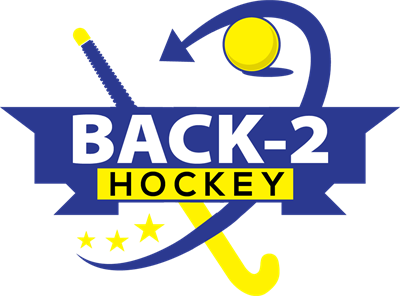 Back 2 Hockey yellow and blue